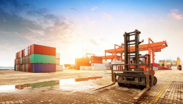 customs bill container terminal port logistics supply chain crates - image courtesy of Depositphotos