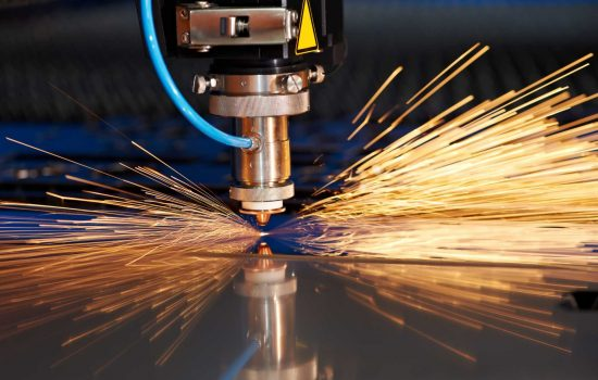 Resource Efficiency - MTL Advanced has invested in automated laser cutter- image courtesy of Depositphotos.