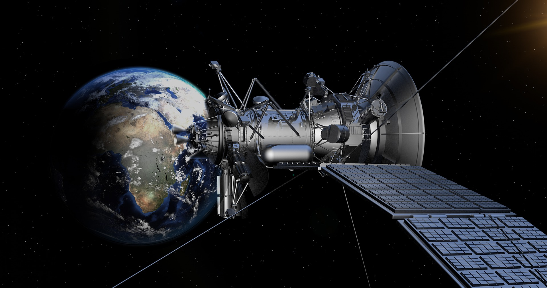 The UK Space Agency is offering young people expert advice for their ideas of how satellites could improve life on Earth - image courtesy of Pixabay.