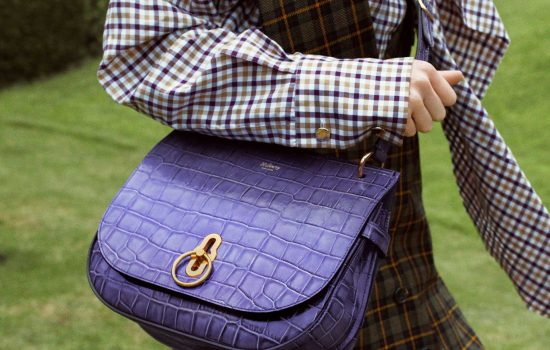 The British handbag manufacturer is committed to manufacturing in Britain even as it faces higher Brexit costs - image courtesy of Mulberry.