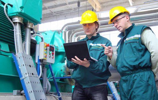 Engineer Laptop Digital Skills Data - image courtesy of Depositphotos