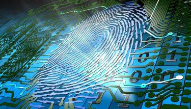 Virtual Engineering - Biometric fingerprint-based identification - image courtesy of Depositphotos