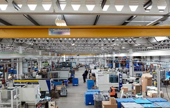 The Yorkshire-based business acquired of a 50,000 sqft factory in Hull back in August 2012 – image courtesy of Advanced Plastics.