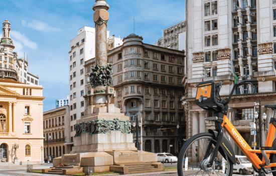 Nueva red de bicicletas compartidas en São Paulo