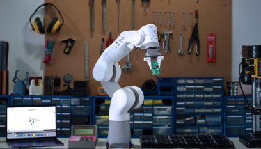 At £4,990, UK start-up Automata's Eva will be the lowest priced cobot yet when it ships later this year – image courtesy of Automata.