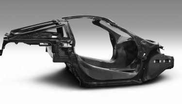 The MCTC will develop advanced manufacturing technologies to create new carbon-fibre composite 'tub' designs, aiming for lighter, stronger structures for future McLaren models – image courtesy of McLaren.