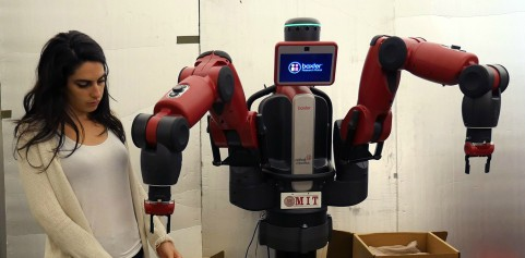 A CSAIL's project is working to provide context to voice recognition to help robots follow voice commands - image courtesy of MIT.