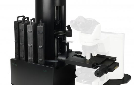 The company manufactures among others microscope automation systems - image courtesy of Prior.