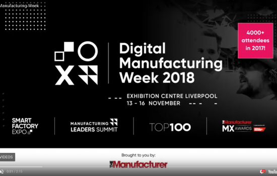 Digital Manufacturing Week Screen Shot