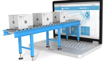 Connected Factory ERP IIoT IoT Ecommerce - image courtesy of Depositphotos