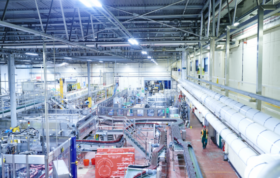 The soft drink company is to create 80 new jobs at its manufacturing site in Rugby - image courtesy of Britvic.