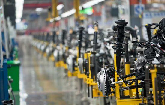 Car production line - image courtesy of Depositphotos.
