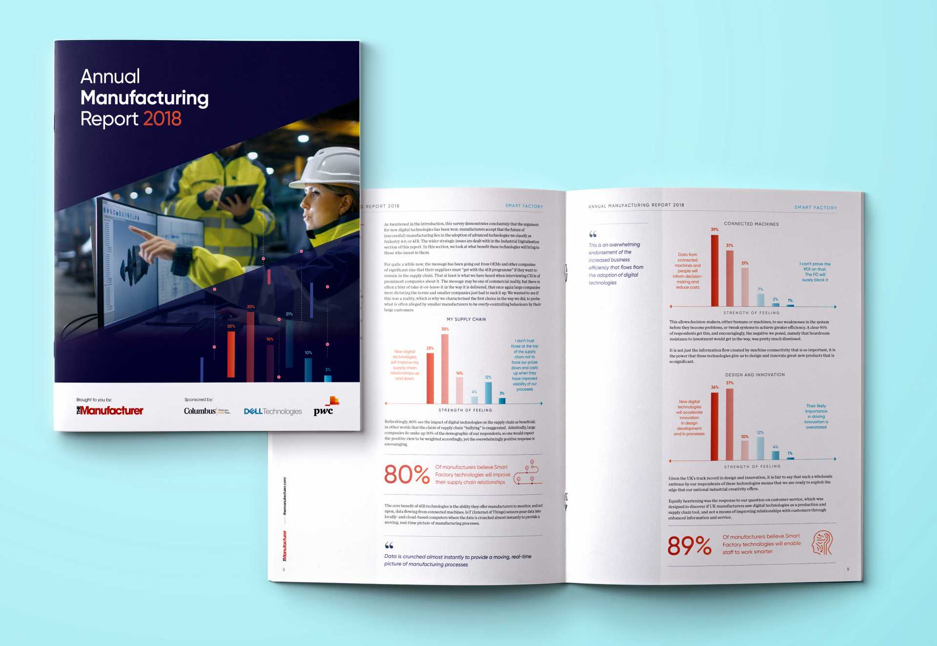 Annual Manufacturing Report AMR 2018 from The Manufacturer