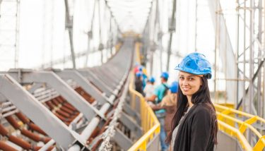 Young engineering woman - Image Courtesy of Stratus