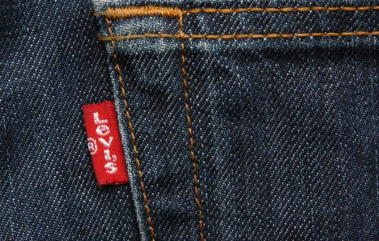 Levis Strauss' project digitises the design and development of denim finishing – image courtesy of Depositphotos.
