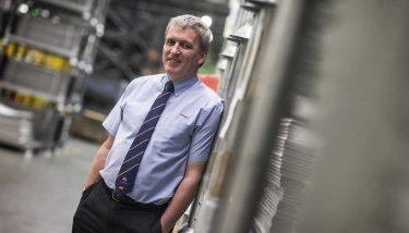 Ian Malcolm, managing director of ElringKlinger (GB).