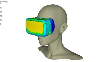 By connecting with the Oculus Rift VR headset, Release 12 allows engineers to view and explore their models in virtual reality for the first time - image courtesy of 6SigmaET.