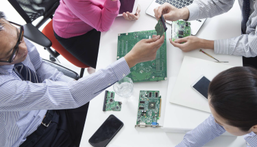 Servitization - G&B is a contract manufacturer of printed circuit board assemblies and electronic products with a 35-year pedigree - image courtesy of G&B Electronic Designs.