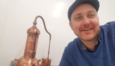 Dave Owens, product development, Nightingales Gin.