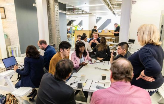 EEF hosted its first ever hackathon to tackle the problem of how to get more young people into the manufacturing industry - image courtesy of EEF.