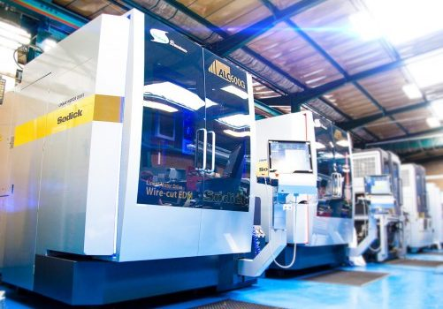 The investment in new wire eroders is driving the manufacturer towards sales of £5m in 2018 - image courtesy of A&M.