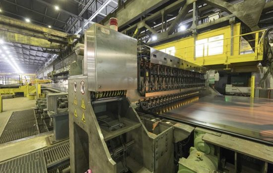 Steel manufacturer launches automated material testing system