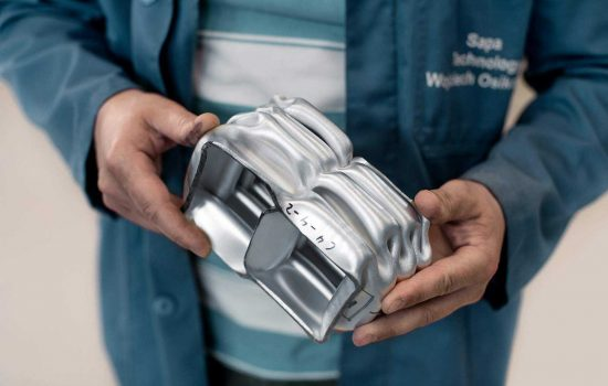 Car industries urge aluminium manufacturers stay innovative - image courtesy of Norsk Hydro.