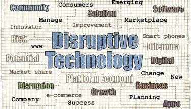disruptive technology disruption digital - image courtesy of Depositphotos