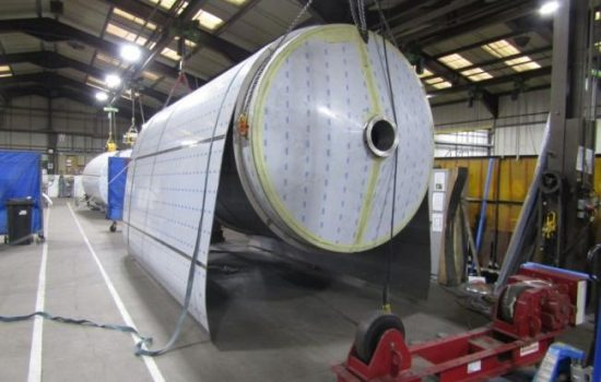 Fabdec has invested in LED lighting across its operations which leads to cutting energy costs - image courtesy of Fabdec.