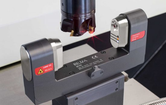 Laser control systems accounted for 65% of the company's turnover in 2017 – image courtesy of Blum-Novotest.