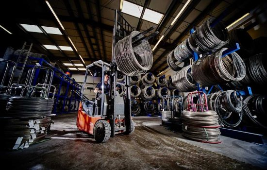 The wire manufacturer has seen sales increase by £3m since 2016 - image courtesy of AWI.