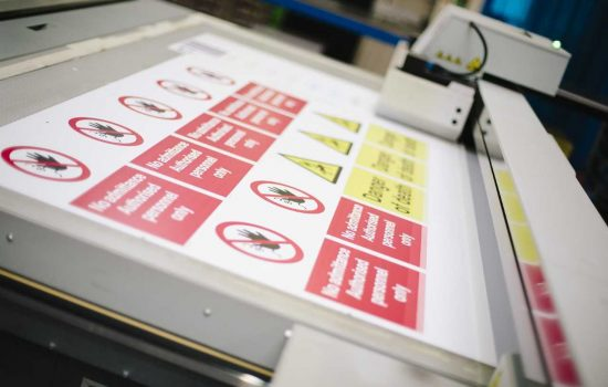 The safety sign manufacturer expects to see continued growth in Amazon as a B2B channel - image courtesy Viking Signs.