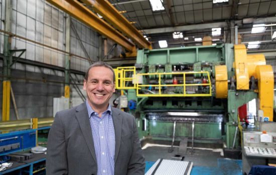 Metal Mesh Manufacturer - Philip Astley, managing director, The Expanded Metal Company.