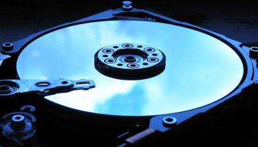 Hard disk drive - image courtesy of Depositphotos.
