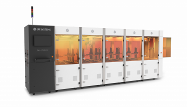 For many applications, Figure 4 can enable throughput improvements of up to fifteen-times and up to 20% lower parts cost – image courtesy of 3D Systems.