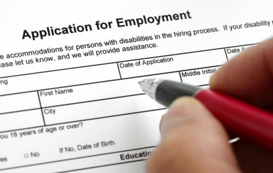 Application for employment Job application workforce - image courtesy of Depositphotos