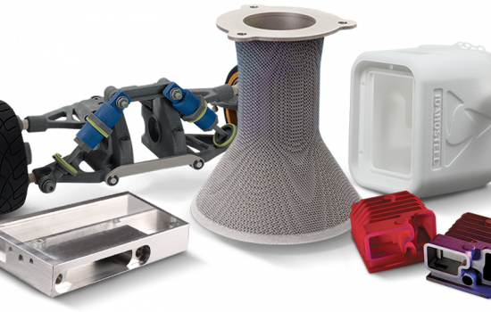 3D Printing 3D Systems on demand manufacturing services – image courtesy of 3D Systems.