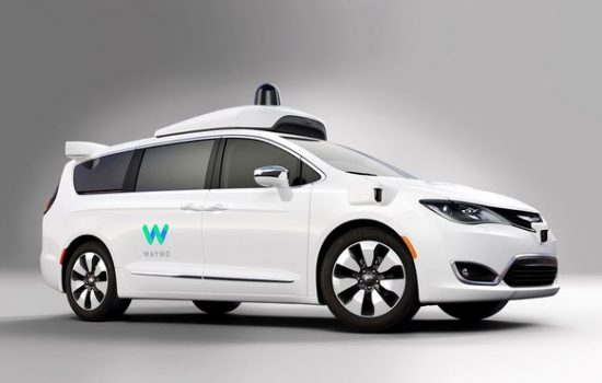 Waymo is testing self-driving tech with 600 Chrysler Pacificas - image courtesy of Waymo.