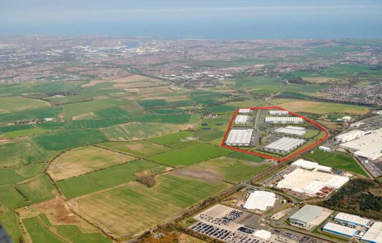 International Advanced Manufacturing Park is located next to the UK's largest car manufacturing plant, Nissan - image courtesy of IAMP.