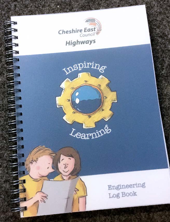 Every child at Rode Heath Primary school – from Reception up to Year 6 – has their own Engineering Log Book.