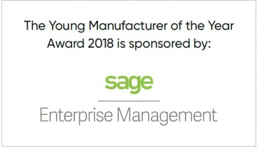 SAGE - Young manufacturer of the year 2018SAGE - Young manufacturer of the year 2018