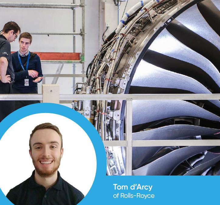 Tom d'Arcy of Rolls-Royce