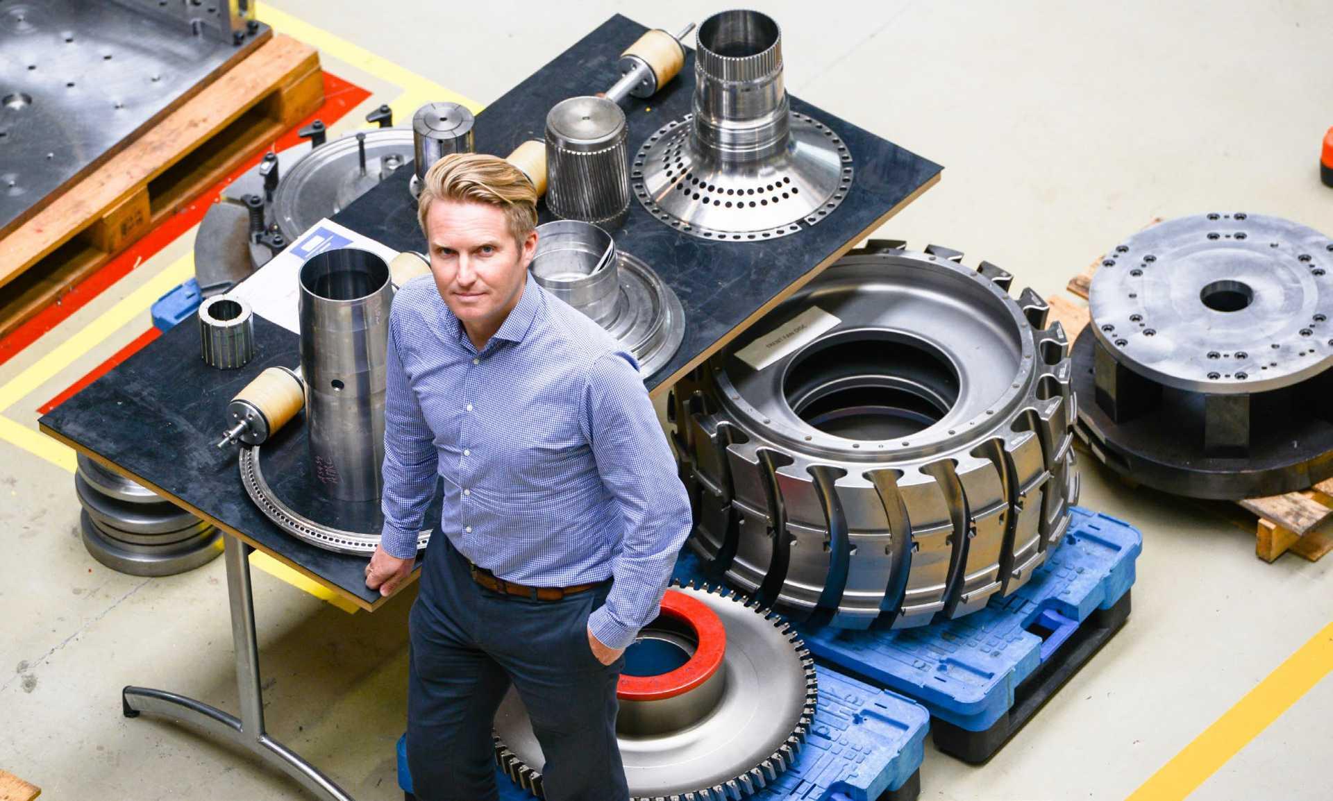 HVMC - Professor Sam Turner, CTO of the High Value Manufacturing Catapult - image courtesy of Ed Shaw/Sandvik Coromant, Metalworking World.
