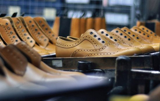 The manufacturing part of the footwear industry employs 4,000 people - image courtesy of Loake.