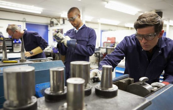 Britain's manufacturing sectors are warning they need genuine free trade to prevent economic disaster - image courtesy of Depositphotos.