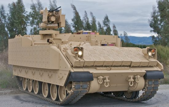 The UK manufacturer prevailed in the Marine Corps' robust competition for the next generation of vehicles - image courtesy of BAE Systems.