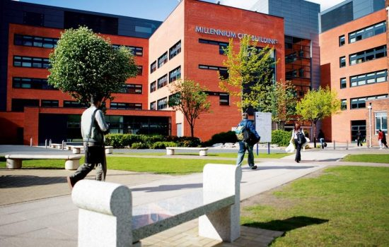 The University of Wolverhampton opens of a new academy for automotive engineers.
