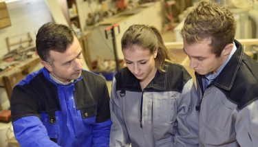 AMI's competition is looking to promote apprenticeships through social media - image courtesy of Depositphotos.