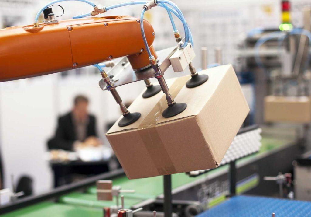 Warehouse automation robotics robot - image courtesy of Depositphotos.