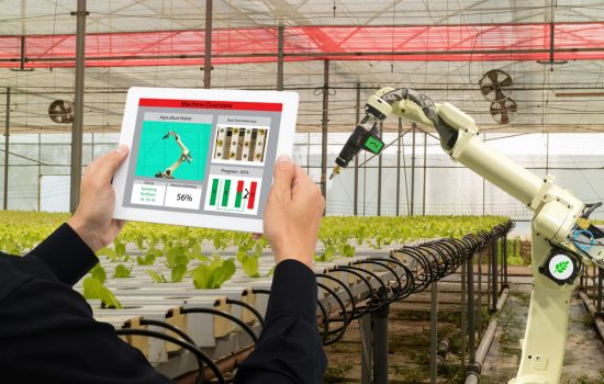 Agribots could offer a wide amount of automation technologies to boost the agricultural sector - image courtesy Depositphotos.